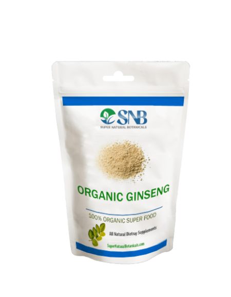 organic ginseng powder