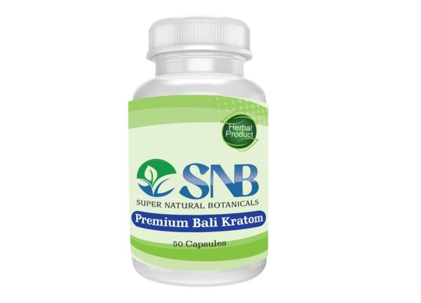 Bali Red Capsules Supernatural Botanicals