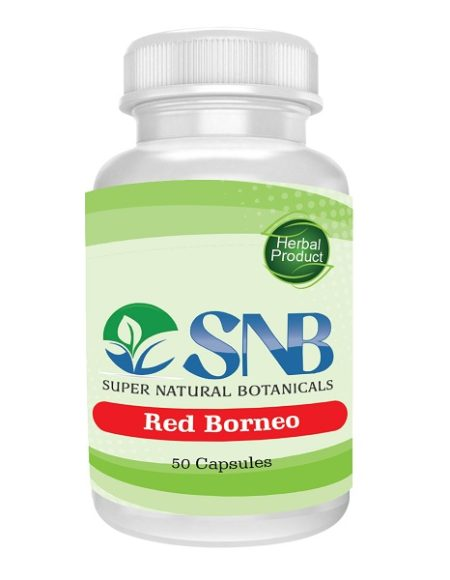 Borneo Red Capsules Supernatural Botanicals