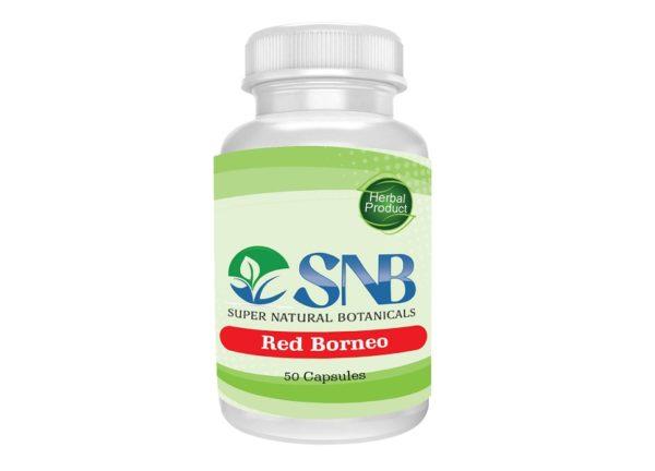 Borneo Red Capsules Supernatural Botanicals