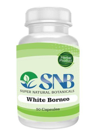 White Vein Borneo Kratom Capsules