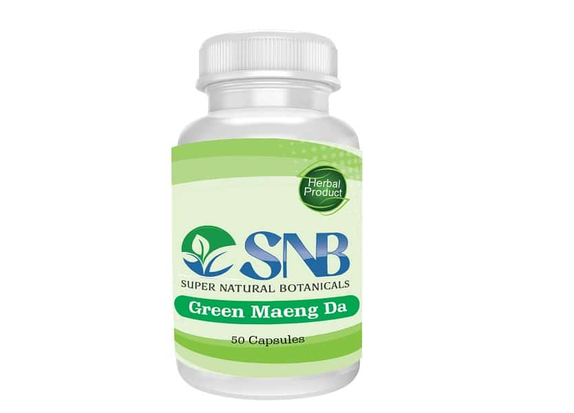 Maeng Da Green Capsules Supernatural Botanicals