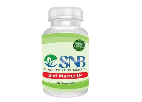 Maeng Da Red Capsules Supernatural Botanicals