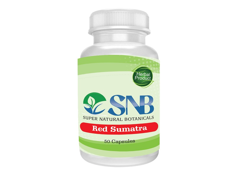 Sumatra Red Capsules Supernatural Botanicals