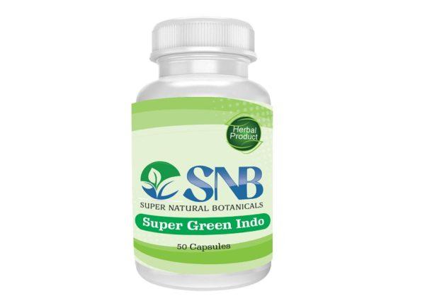 Super Green Indo Capsules Supernatural Botanicals