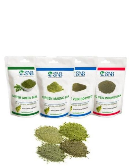 buy 4 Strains Kratom Beginner's Pack