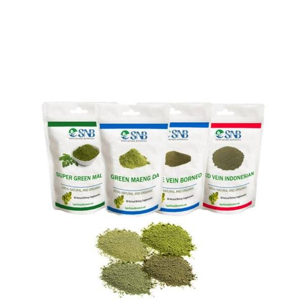 buy 4 Strains Kratom Beginners Pack