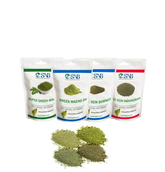 4 Strains Kratom Beginner's Pack
