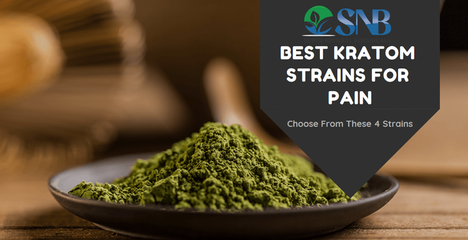 Best Kratom For Pain - Choose From These 4 Strains