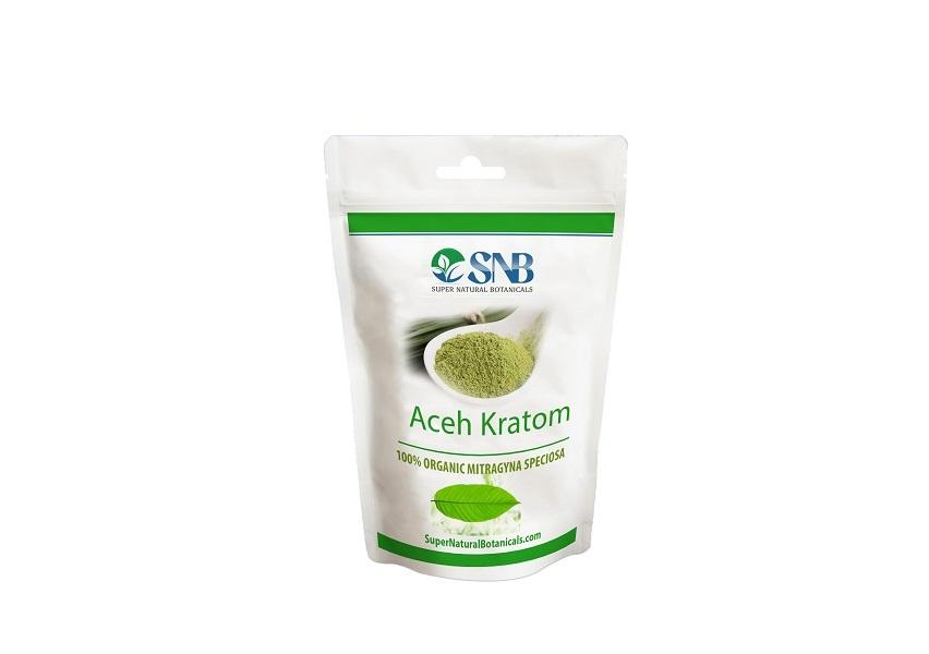 Aceh Kratom Powder Supernatural Botanicals