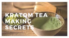 How to Make Kratom Tea with Fresh Juicy Leaves