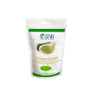 Sulawesi Kratom Leaf Powder