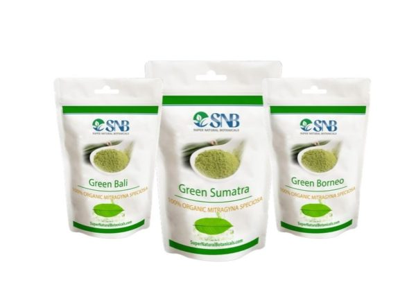 green vien kratom pack