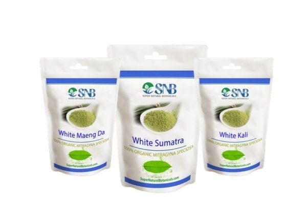 white vein kratom pack
