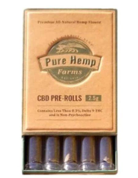 purchase cbd pre rolls five packs