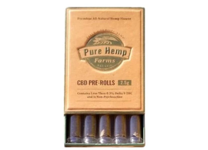 purchase cbd pre rolls five packs