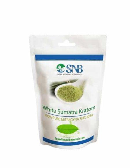 White Sumatra Kratom tea powder