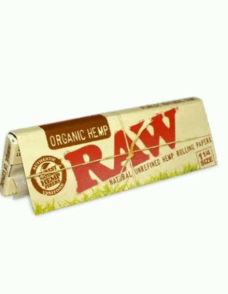 Raw Organic Hemp Rolling Papers 1-14
