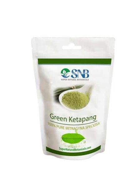 Green Ketapang Kratom tea powder