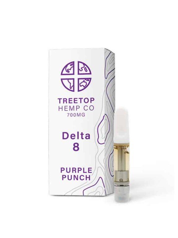 TreeTop Delta 8-THC Cartridge -1ml 700mg - Blue Dream