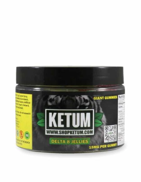 Ketum Delta-8 THC Gummies (300mg & 1000mg)