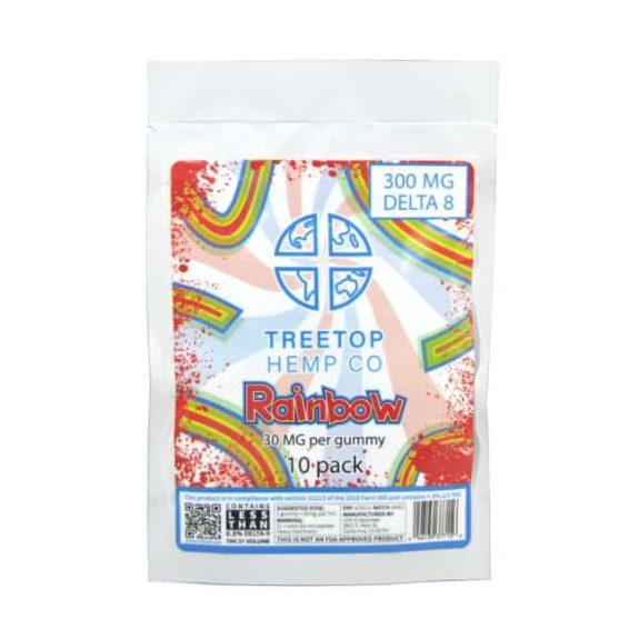 TreeTop Delta 8 THC 300mg Gummies (10pk) - Sour Snakes