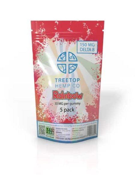 TreeTop Delta 8 THC 150mg Gummies (5pk)