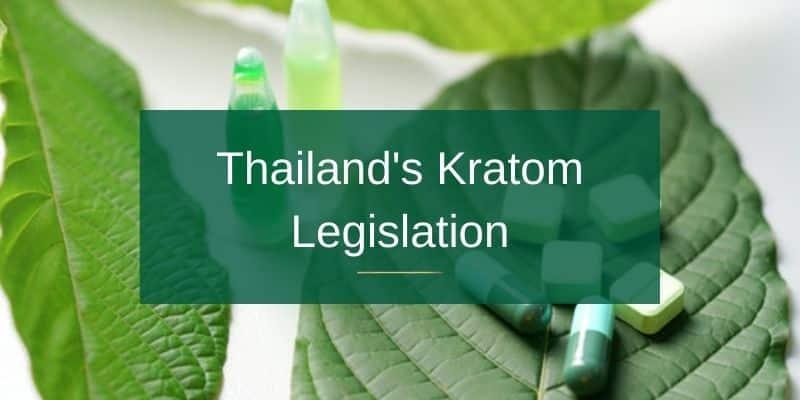 Thailand's Kratom Legislation