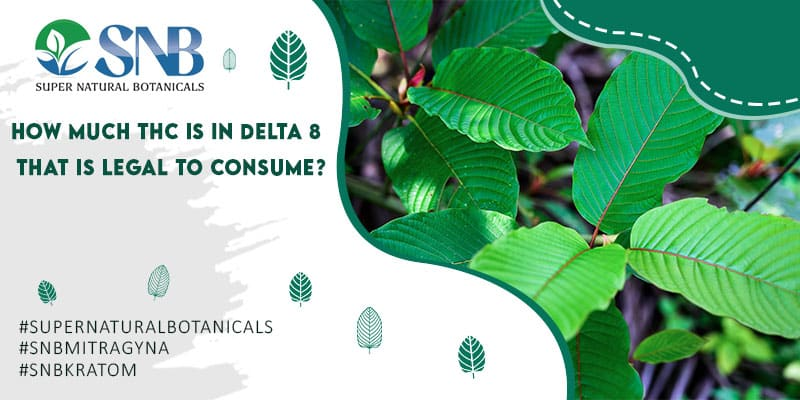 THC In Delta 8 Legal to Consume
